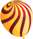 Round Yellow Balloon