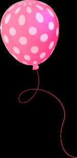 Round Pink Balloon