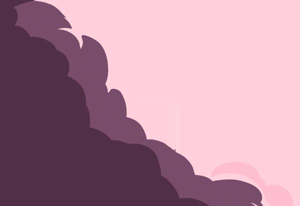 Big Violant Cloud